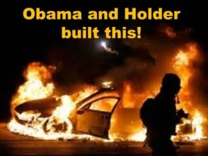 Fergusen obama holder built