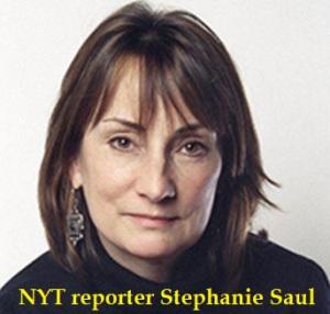 NYT reporter Stephanie Saul