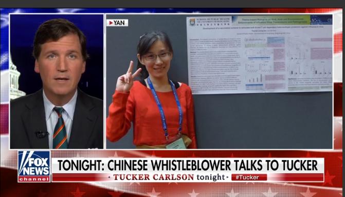 Dr. Li-Meng Yan joins Tucker Carlson
